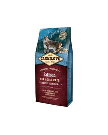 CARNILOVE Cat Grain Free Salmon Adult Sensitive&Long Hair 2 kg