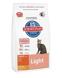 HILL'S Science Plan Feline Adult Light Chicken pentru pisici sterilizate, cu pui 5 kg