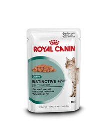 Royal Canin Instinctive 7+ hrana umeda in sos pentru pisica senior, 12 x 85 g