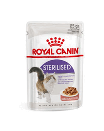 Royal Canin Sterilised Adult hrana umeda in sos pisica sterilizata, 12 x 85 g