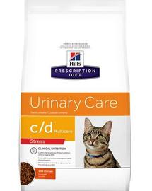 HILL'S Prescription Diet Feline c/d Multicare Urinary Stress 4 kg