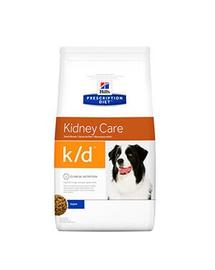 HILL'S Hrana uscata pentru cainii adulti cu insuficenta renala 2kg