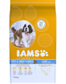 IAMS ProActive Health Puppy & Junior Large Breed cu pui 3 kg
