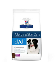 HILL'S Prescription Diet Canine d/d Duck & Rice 2 kg