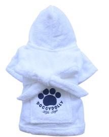 DOGGY DOLLY Halat cu imprimeu, alb, L 61-63 cm/89-91 cm