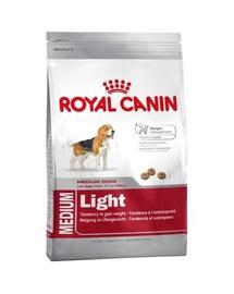 Royal Canin Medium Light Weight Care Adult hrana uscata caine pentru limitarea cresterii in greutate, 3 kg