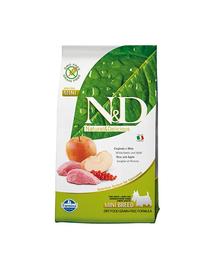 FARMINA N&D Prime Adult Mini - Hrană uscată cu carne de mistreț și măr 2.5 kg