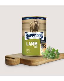 HAPPY DOG Pur lamm cu miel 200 g