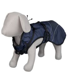 TRIXIE Palton impermeabil pentru câini Duo, L: 55 cm
