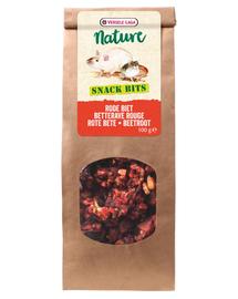 VERSELE-LAGA Snack Bits, gustari bogate pentru rozatoare, cu sfeclă roșie,100 g