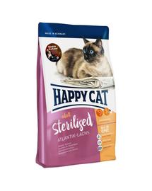 HAPPY CAT Supreme Sterilised cu Somon 4 kg