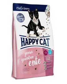 HAPPY CAT Supreme Junior Grainfree cu Rață 4 kg