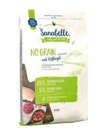 BOSCH Sanabelle No grain - cu pasăre 10 kg