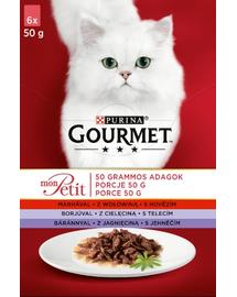 GOURMET Mon Petit Mix mix de carne (6x50 g)