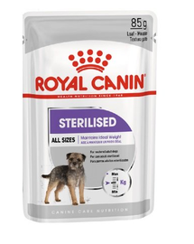 Royal Canin Sterilised Adult hrana umeda caine sterilizat, 12 x 85 g