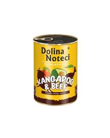 DOLINA NOTECI Premium SuperFood cangur și vită 400 g