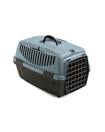 ZOLUX Transportor pentru caini si pisici GULLIVER 1, albastru-maro inchis