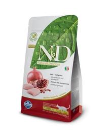 N&D FARMINA Hrana uscata pentru pisici sterilizate, cu pui si rodie, 1.5 kg