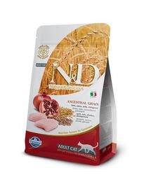 N&D Hrana uscata pentru pisici adulte, cu bob mic, 5 kg