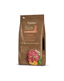 FITMIN Dog Purity Grain free adult beef 12 kg