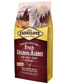 CARNILOVE Fresh Adult Cat cu Pui si Iepure 6 kg