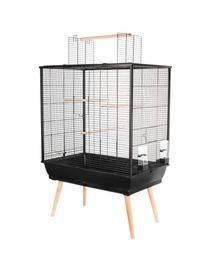 ZOLUX Cușcă Neo JILI pentru păsări H80 negru