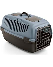 ZOLUX Transportor pentru caini si pisici GULLIVER 3, albastru-maro inchis
