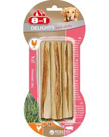 8IN1 Delights - Delicatesă cu aromă de porc 3 bucăți