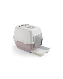 ZOLUX Litieră CATHY Clever and Smart cu filtru - roz pudrat