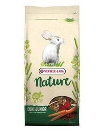 VERSELE-LAGA Cuni Junior Nature - hrană completă pentru iepurii până la 8 luni - 700 g