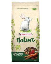 VERSELE-LAGA Cuni Junior Nature - hrană completă pentru iepurii până la 8 luni 2,3 kg