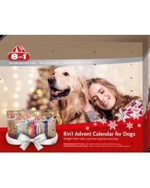 8IN1 Calendar Advent cu recompense pentru caini
