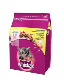 WHISKAS Junior Pui 300 g x14