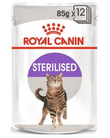ROYAL CANIN Cat Sterilised în aspic 12 x 85 g