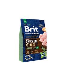 BRIT Premium By Nature Junior Extra Large XL 3 kg