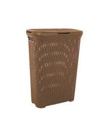 CURVER Coș pentru haine în stil Rattan 40 L maro