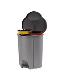 CURVER Coș de sortare a deșeurilor TRIO 40 L