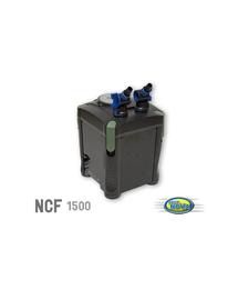 AQUA NOVA Filtru extern, 1500 litri pe oră, 4 etape de filtrare