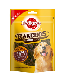 PEDIGREE Ranchos Originale cu pui 7*70 g