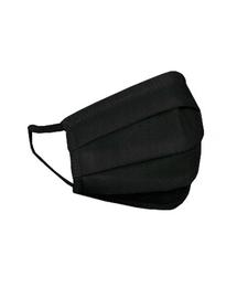 HEXA HEALTH Mască de protecție din bumbac cu două straturi - negru