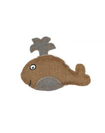 BARRY KING Jucărie Balenă maro 11 x 9 cm
