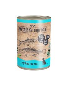 WIEJSKA ZAGRODA hrană umedă fără cereale, cu pește 400 gr
