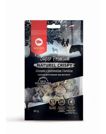 MACED Super Premium Naturel Crispy vânat și păstârnac 80 g