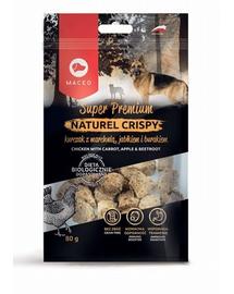 MACED Super Premium Naturel Crispy pui și morcovi, mere și sfeclă 80 g