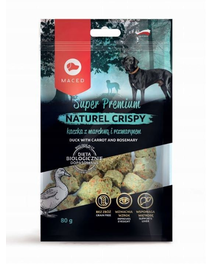 MACED Super Premium Naturel Crispy rață cu morcov și rozmarin 80 g