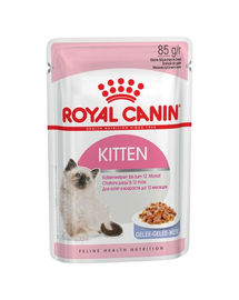 Royal Canin Kitten Instinctive In Jelly hrana umeda in aspic pentru pisica, 12 x 85 g