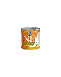 FARMINA N&D Hrană pentru câini - dovleac și prepeliță -285 gr
