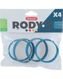 ZOLUX Conector RODY3, 4 buc, albastru