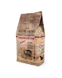 WIEJSKA ZAGRODA Hrană uscată pentru pisici, miel și krill 5 kg