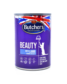 BUTCHER'S Functional Cat Beauty cu miel în aspic 400 gr